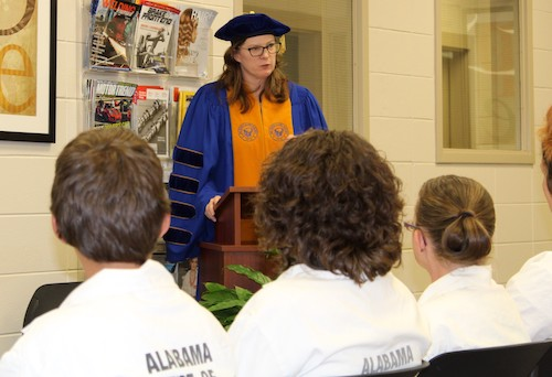 Ingram State Technical College Students Participate in Phi Theta Kappa Induction Ceremony