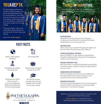 image of a ptk recruitment materials for download